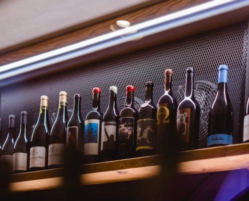 Weinlagerraum